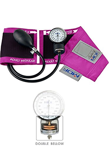 MDF® Calibra Pro Aneroid Sphygmomanometer - Professional Blood Pressure Monitor with Adult Sized Cuff Included - Fuscia (MDF808B-32) (Welch Allen Blood Pressure Kit compare prices)