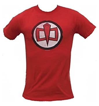 The Greatest American Hero TV Show Series Logo Red T-shirt, XL