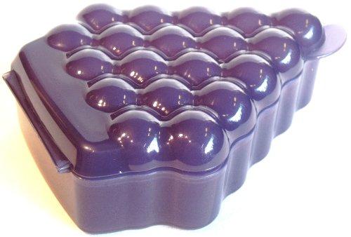 1a-TUPPER-Trubchen-Brotdose-TRAUBE-lila