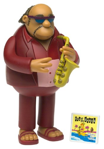 The Simpsons Series 6 Action Figure Bleeding Gums Murphy