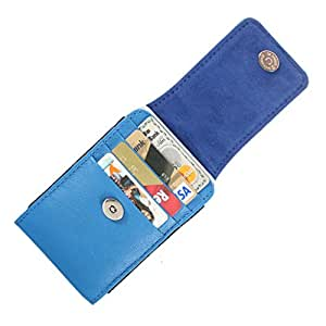 DooDa Genuine Leather Pouch Case Cover With Magnetic Closure For Karbonn A21