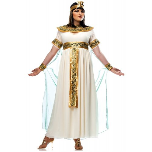 Cleopatra Costume - Plus Size 1X - Dress Size 16-18