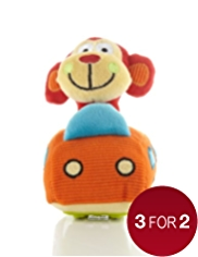 Play & Go Monkey Car Toy