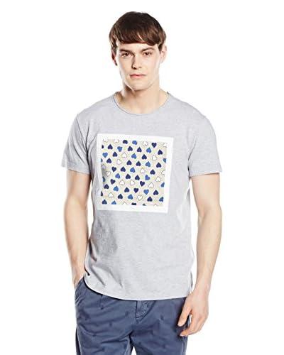 RODA Camiseta Manga Corta Azul