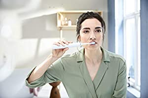 Philips Sonicare ExpertClean 7500 Rechargeable Electric Toothbrush, White HX9690/06 (Color: White)