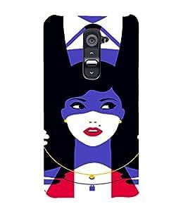 PrintVisa Love Couple Gift Sarcastic Design 3D Hard Polycarbonate Designer Back Case Cover for LG G2