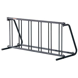 Click to buy Outdoor Bicycle Storage: Allen Industrial Grade 6-Bike Parking Rack from Amazon!