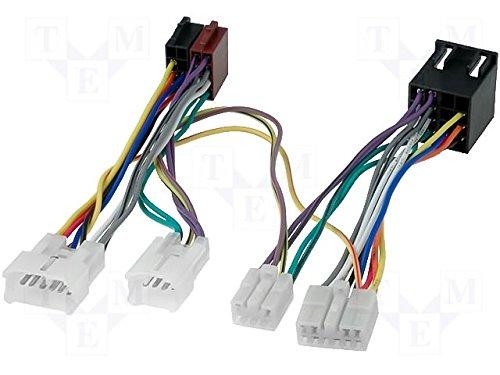 G.M. Production - BT TOY - Cavo PASSIVO per montare un vivavoce Bluetooth (PARROT o BURY o simili) su tutte le autoradio e navigazioni di serie ad ISO per TOYOTA LEXUS e DAIHATSU [controllare foto e dettagli compatibilità]