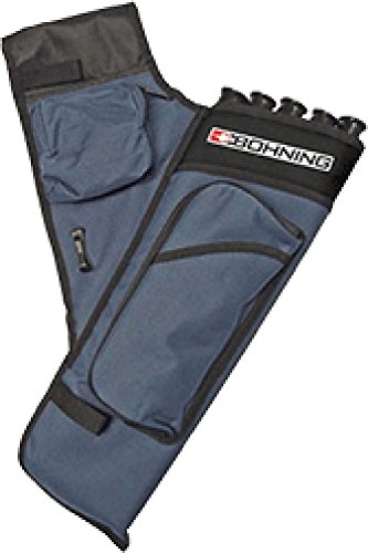 Bohning Adult Right Hand Target Quiver, Blue