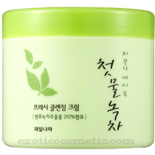 The First Green Tea Natural Facial Cleansing Cream (Fermented Green Tea)