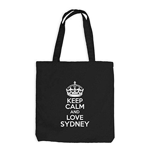 yute-bolsa-keep-calm-and-love-sydney-domestica-weh-regalo-idea-australia-negro-talla-unica