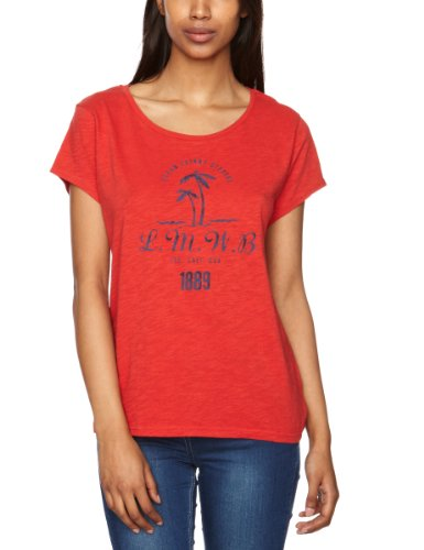 Lee Fader Printed Women's T-Shirt Red Small