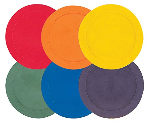 Champion Sports 10 Inch Poly Spot Markers Set Of 6