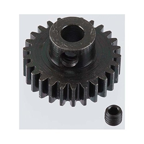 Extra Hard 26 Tooth Blackened Steel 32p Pinion 5mm - 1