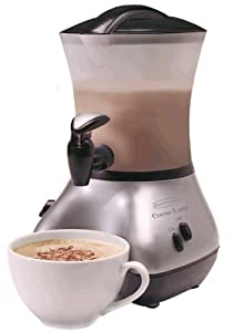 Back to Basics CM300BR Cocoa-Latte Chrome 32-Ounce Hot-Drink Maker
