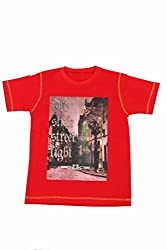 Earth Conscious T-Shirt [C-10059_Red_5-6 Year]