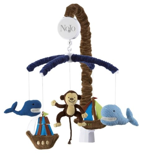 NoJo Ahoy Mate Musical Crib Mobile
