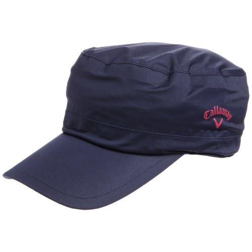(キャロウェイ アパレル)callaway apparel 定番 レイン ワークキャップ 241-984850 121 121 ネイビー FR
