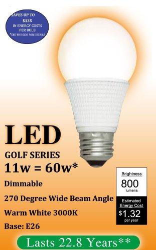 GE Lighting 10098 13-watt 565-Lumen T8 Light Bulb with Medium Bi-Pin G13 Base 24-Pack