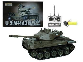 RC US M41A3 Walker Bulldog Tank That Shoots BB's 1:16