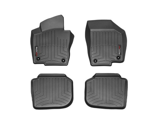 WeatherTech First and Second Row FloorLiner (Black) (Weathertech 2014 Nissan Maxima compare prices)