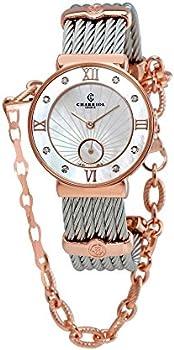 Charriol St. Tropez Round Steel Watch