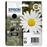 Epson 18 - Print cartridge - 1 x black - 175 pages - for Epson MUFC Printer; Expression Home XP-102, 212, 215, 30, 305, 312, 315, 405, 412, 415