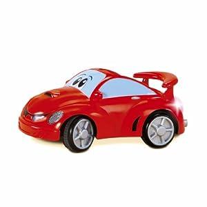 Chicco - Johnny Coupe rojo con radio control, juguete de primera infancia