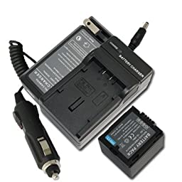 NEW Battery+Charger for Panasonic MiniDV Camcorder PV-GS29 PV-GS30 Video Camera