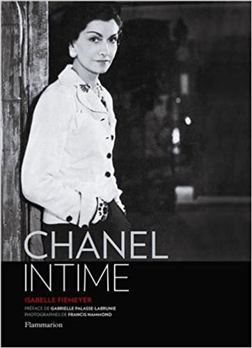 livre chanel intime