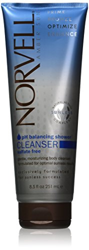 Norvell Amber Sun pH Sunless Cleanser - Body Wash 8.5FL. OZ (Shower Tan compare prices)