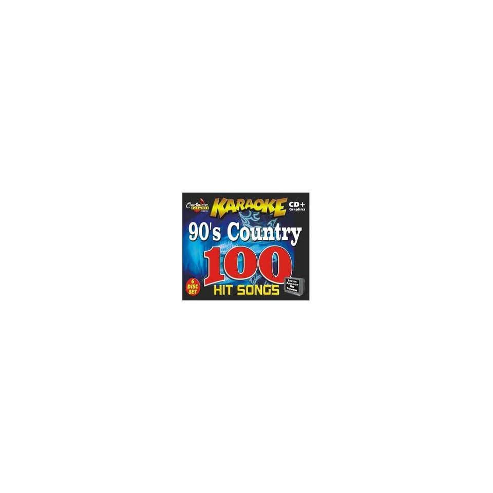 Chartbuster Karaoke 90s Country CD+G (Standard) on PopScreen