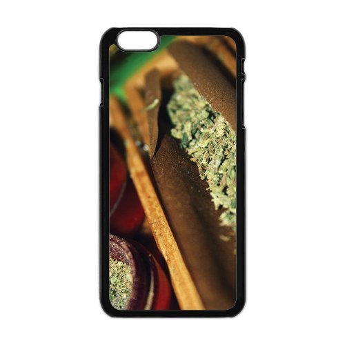 Generic Mobile Phone Cases Cover For Apple Iphone 6 Case 4.7 Inch Case Country American Flag Marijuana Cannabis Weed Hemp Leaf Smoker Design Custom Made Hard Snap On Cell Phones Shell Protect Skin