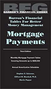 "Cover of ""Mortgage Payments (Barron's Fin..."