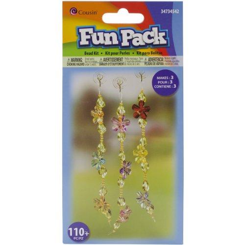 Cousin Fun Pack Acrylic Flower Strand Suncatcher Kit - 1