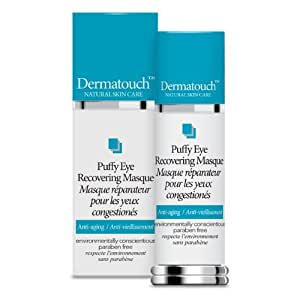 Dermatouch Natural Skin Care Oxygen Puffy Eye Recovering Masque