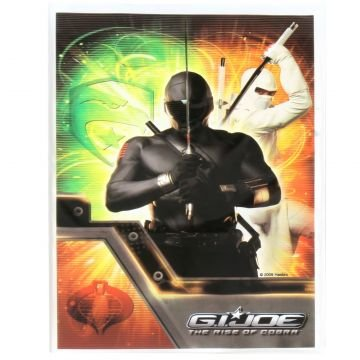 GI JOE Rise of the Cobra Treat Bags (8 count) Party Accessory - 1