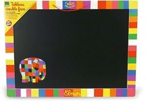 Vilac Elmer Magnetic Whiteboard and Blackboard