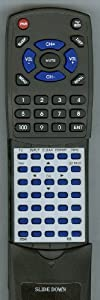 RCA Replacement Remote Control for RC246, L40FHD41YX7, 313923818391, L40FHD41YX9