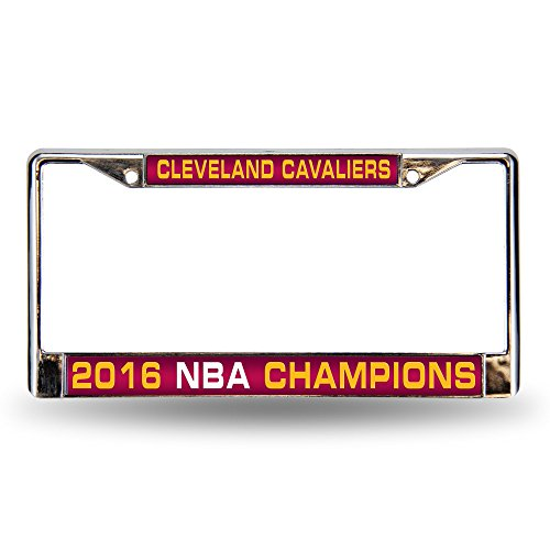 NBA Cleveland Cavaliers 2016 Champions Laser Cut Chrome Plate Frame