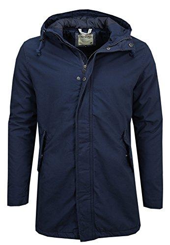 JACK & JONES Jjorclive Parka Jacket-Giubbotto Uomo    Blau (Navy Blazer / REG) Large