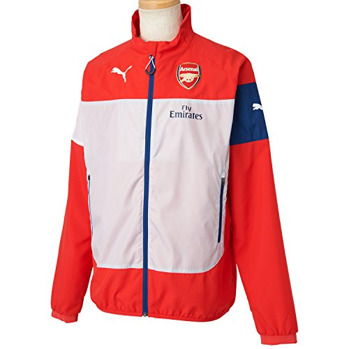 354393f60a 2014 2015 Arsenal Puma Leisure Jacket Red - Poriruaxfxzdvfdsa