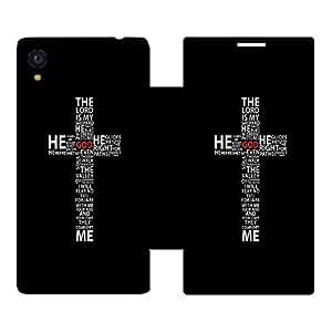 Skintice Designer Flip Cover with hi-res printed Vinyl sticker wrap-around for Sony Xperia M4