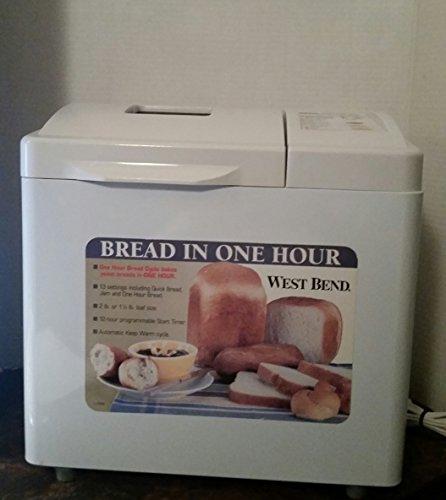 West Bend 2lb. Bread & Dough Maker Model: 41083 (West Bend 2 Pound Bread Maker compare prices)