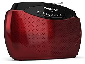 Thomson RT223 Radio Portable FM/MW Rouge