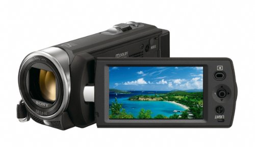 Sony DCRSX15EB Handycam Camcorder - Black (50x Optical Zoom, 0.8 MP, 2.7 inch LCD)