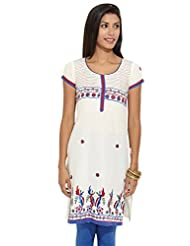 Lovely Lady Ladies Blend Straight Kurta - B00MMEVJ3O
