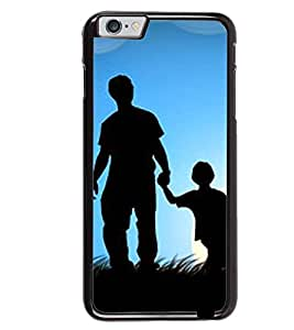 Printvisa Father Son In Moonlight Back Case Cover for Apple iPhone 6 Plus