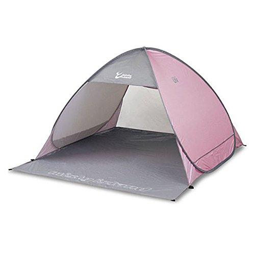 Misty Island UV One Touch Shelter OBT-5SUV(PKG)Pink grey