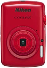Nikon COOLPIX S01 10.1 MP Digital Camera with 3x Zoom NIKKOR Glass Lens (Red)